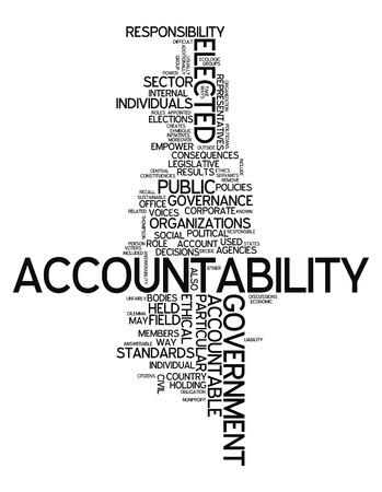 obligations: Word Cloud Accountability