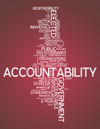 accountability: Word Cloud Accountability