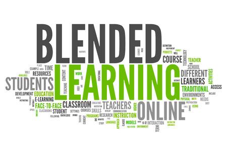 blended: Word Cloud Blended Learning