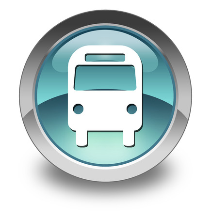 busses: Icon, Button, Pictogram Bus, Ground Transportation
