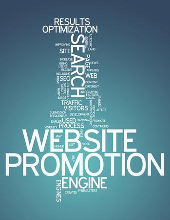 Word Cloud Website Promotion photo