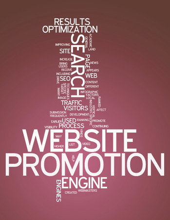 Word Cloud Website Promotion photo