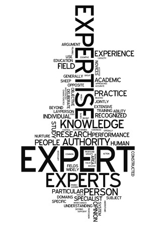 extensive: Word Cloud with Expert related tags