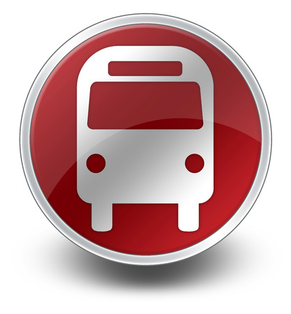 Icône, Bouton, pictogramme Bus Transport terrestre