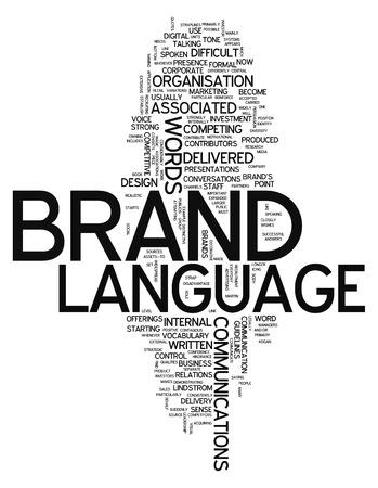 naming: Word Cloud Brand Language