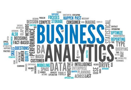 単語クラウド ビジネス分析 写真素材
