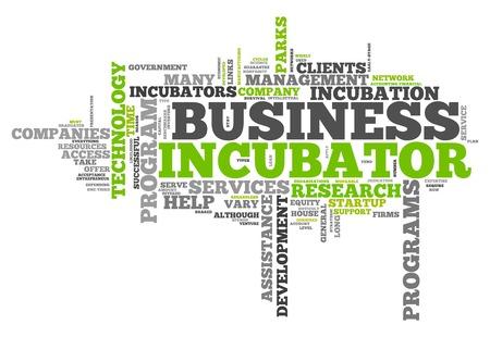 ビジネス ・ インキュベータと単語の雲関連タグ