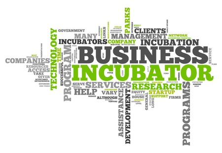 entrepreneurial: Word Cloud with Business Incubator related tags