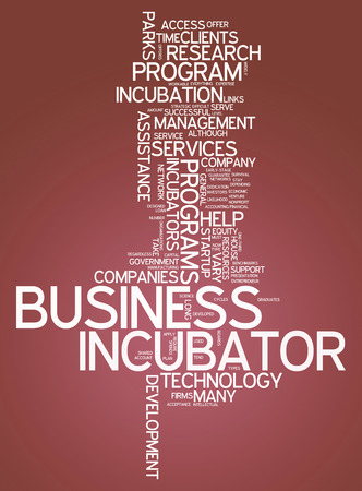 incubation: Word Cloud with Business Incubator related tags