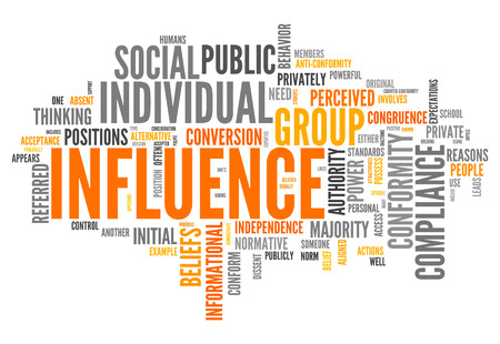 compliance: Word Cloud with Influence related tags