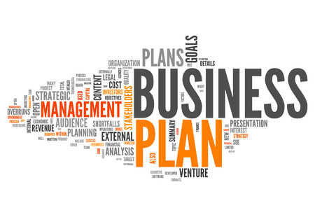Word Cloud with Business Plan related tags