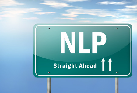 Highway Signpost with NLP wording