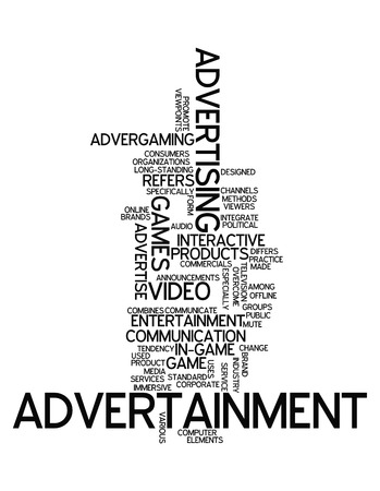 Word Cloud Advertainment