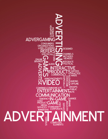 marketer: Word Cloud Advertainment
