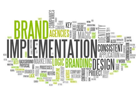 implementation: Word Cloud Brand Implementation