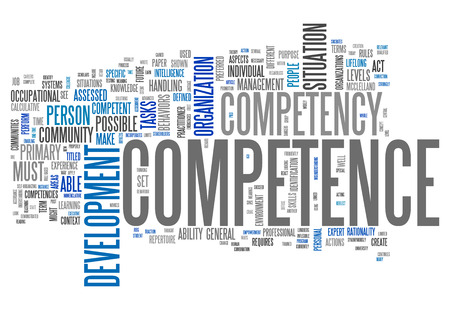 competence: Word Cloud with Competence related tags