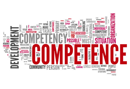 knowledgeable: Word Cloud with Competence related tags