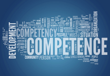 buzzwords: Word Cloud with Competence related tags