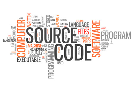 compiler: Word Cloud with Source Code related tags