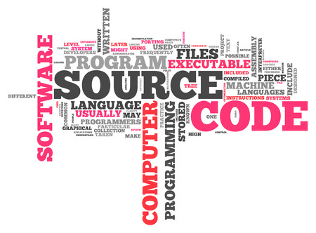 executable: Word Cloud with Source Code related tags