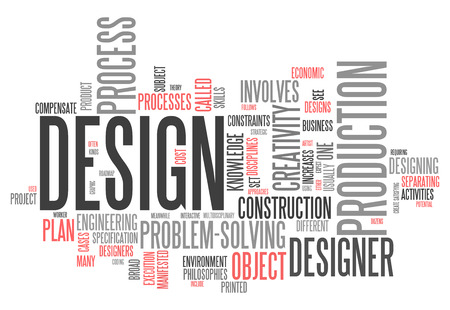 problemsolving: Word Cloud with Design related tags