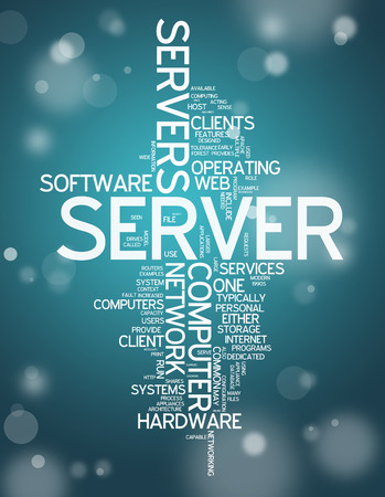 proxy: Word Cloud with Server related tags