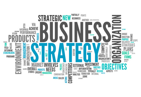 Word Cloud with Business Strategy related tags