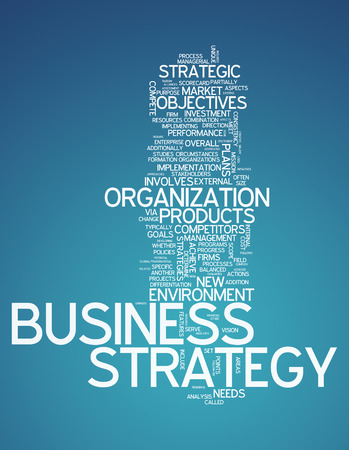 enhance: Word Cloud with Business Strategy related tags