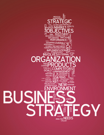 functional: Word Cloud with Business Strategy related tags