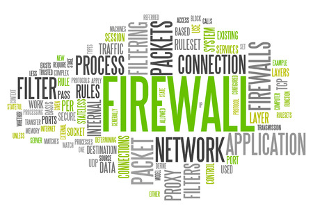 keywords: Word Cloud with Firewall related tags