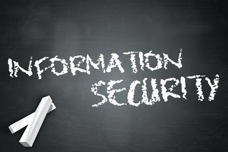 vulnerabilities: Blackboard with Information Security wording