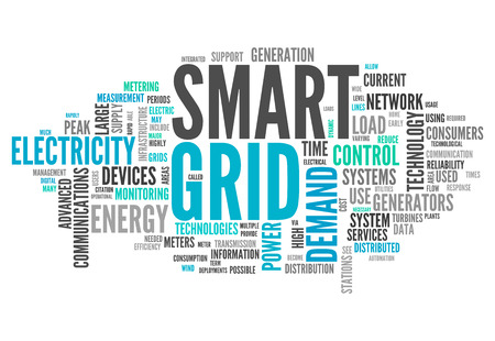 grid background: Word Cloud with Smart Grid related tags