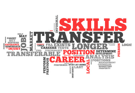 vocational: Word Cloud with Skills Transfer related tags