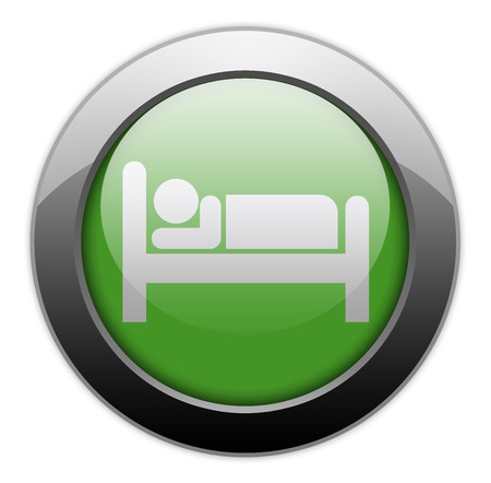 Icon, Button, Pictogram with Hotel, Lodging symbol photo