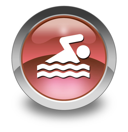 healty: Pictogram with Swimming symbol