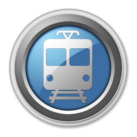 Icon, Button, Pictogram Train   Mass Transit photo