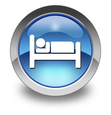 Pictogram with Hotel, Lodging symbol photo