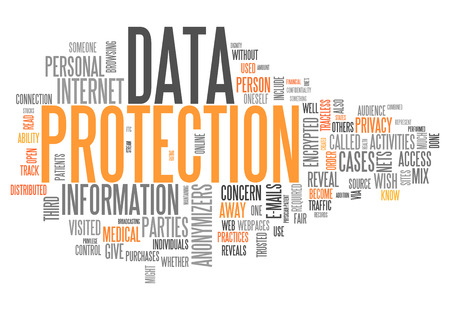directives: Word Cloud with Data Protection related tags