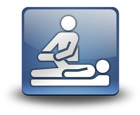 물리 치료 기호 픽토그램