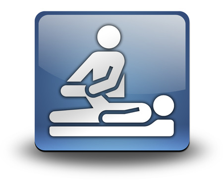 Pictogram with Physical Therapy symbol photo