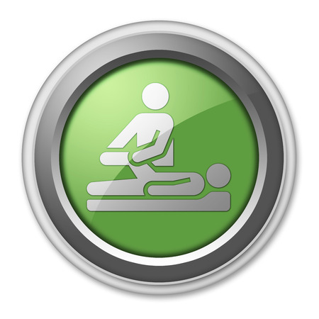 physical therapist: Pictogram with Physical Therapy symbol