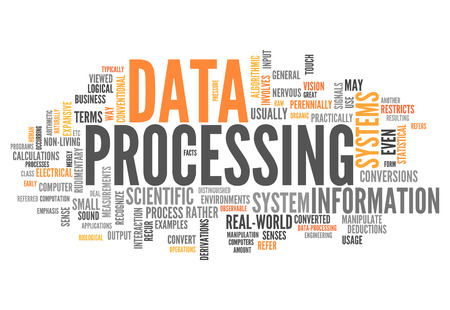 formatting: Word Cloud with Data Processing related tags