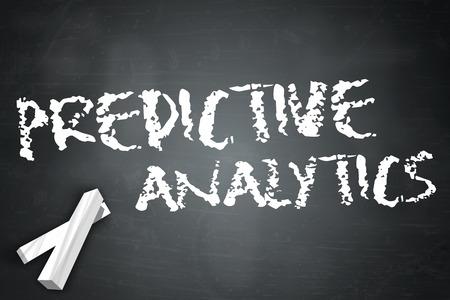 predictive: Lavagna con Predictive Analytics formulazione Archivio Fotografico