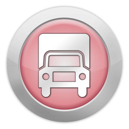 Icon, Button, Pictogram with Trucks symbol Stock fotó