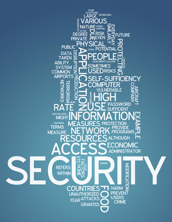 vulnerability: Word Cloud with Security related tags