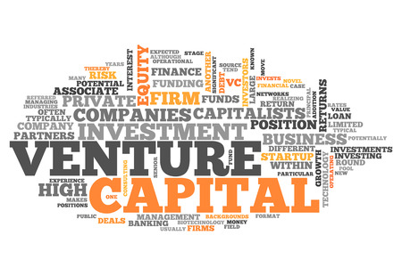 related: Word Cloud with Venture Capital related tags Stock Photo