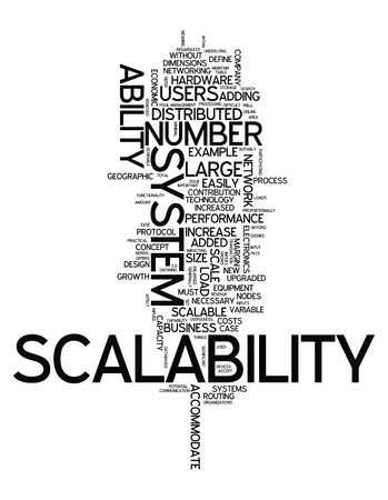 scalability: Word Cloud with Scalability related tags