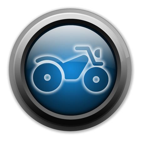 Icon, Button, Pictogram with ATV symbol