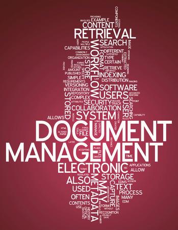 metadata: Word Cloud con tag correlati Document Management