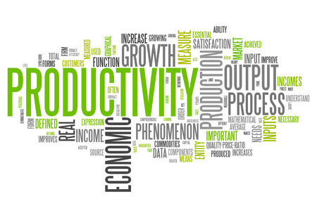 productivity: Word Cloud with Productivity related tags